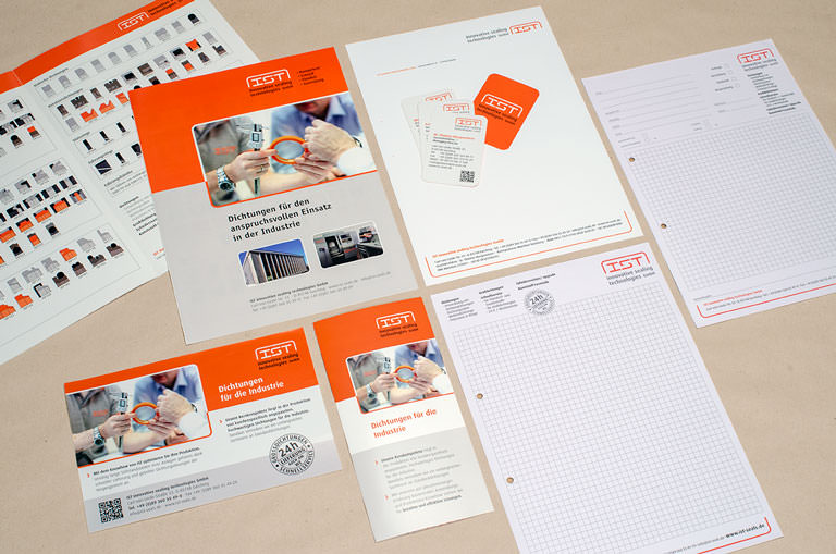 Corporate Design für IST - innovative sealing technologies GmbH