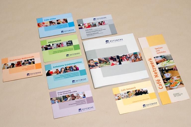 Corporate Design für das Netzwerk Geburt & Familie e.V.