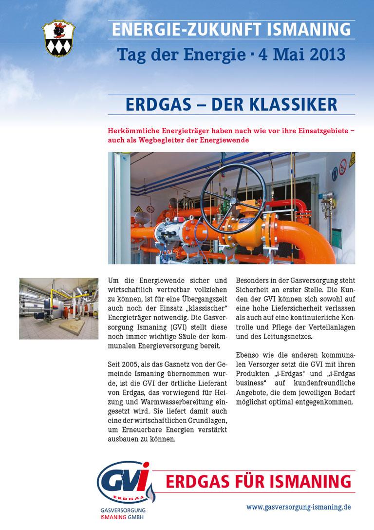 Tag der Energie Ismaning – Erdgas