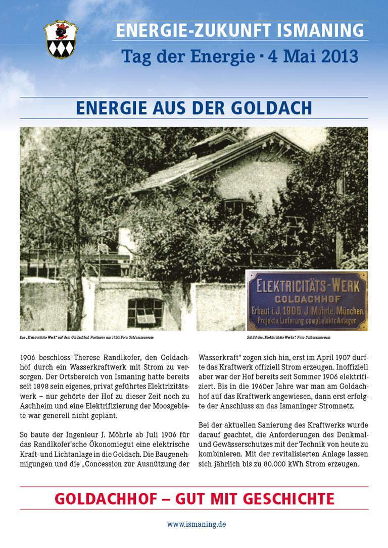 Tag der Energie Ismaning – Goldachhof
