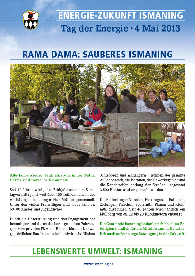 Tag der Energie Ismaning – Rama Dama