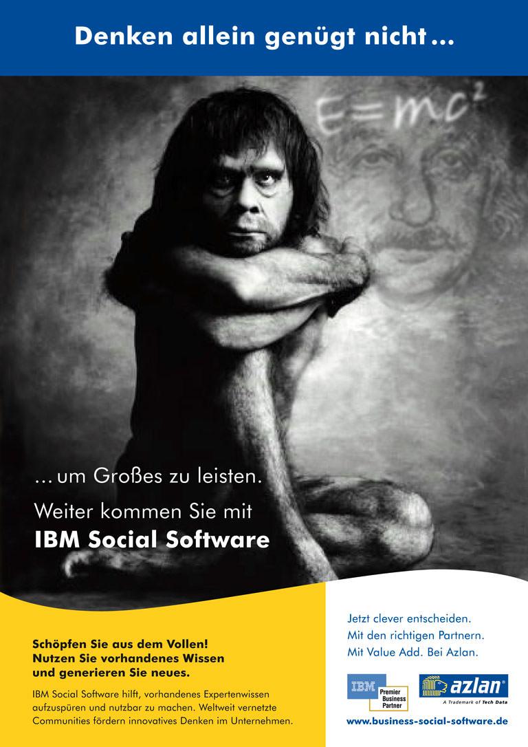 Anzeige 1: Azlan - IBM social software