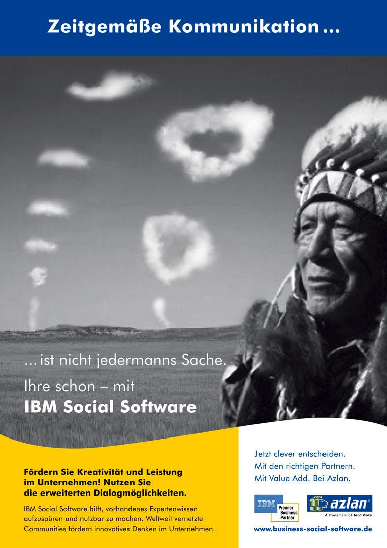 Anzeige 2: Azlan - IBM social software