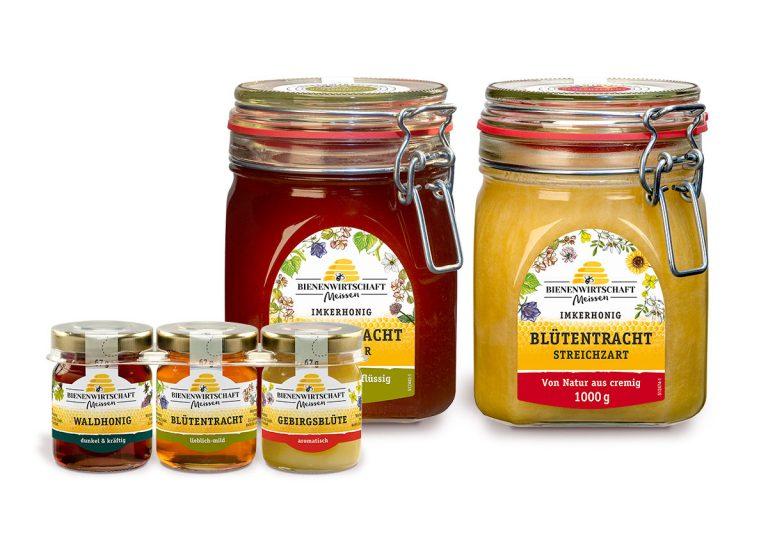 Bienenwirtschaft Meißen Honig Erweiterung der Produktausstattung