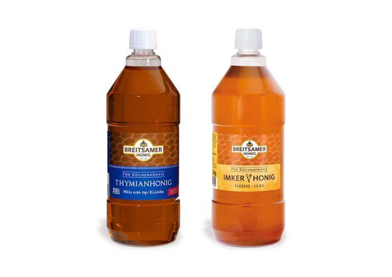 Breitsamer Honig für Großverbraucher