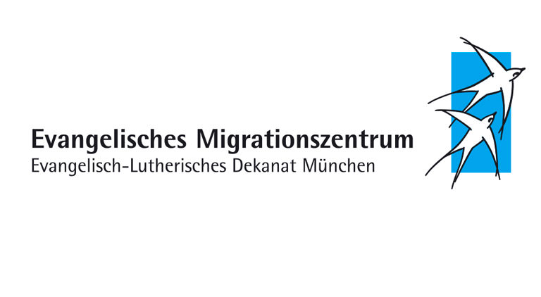 Logo Evangelisches Migrationszentrum