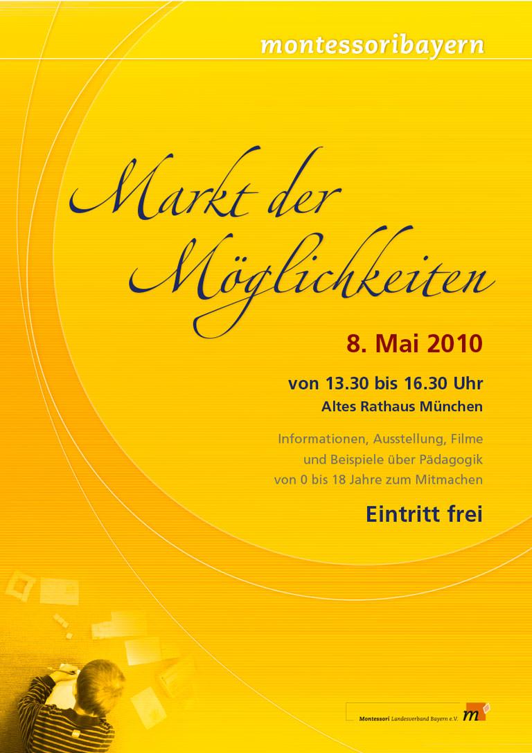 Montessori Landesverband Bayern - Markt der Möglichkeiten