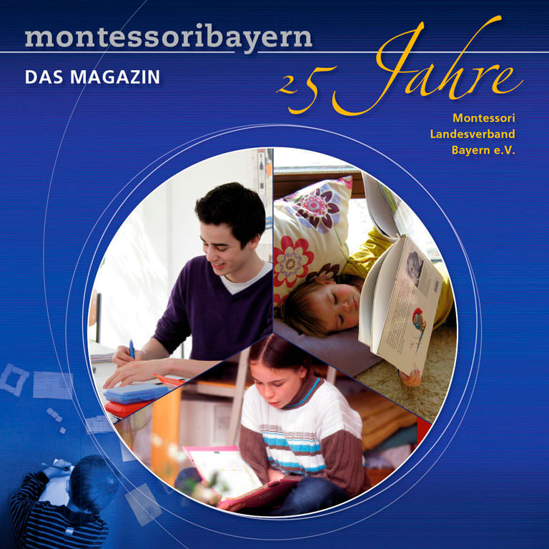 Festschrift zum 25jährigen Jubiläum des Montessori Landesverband Bayern